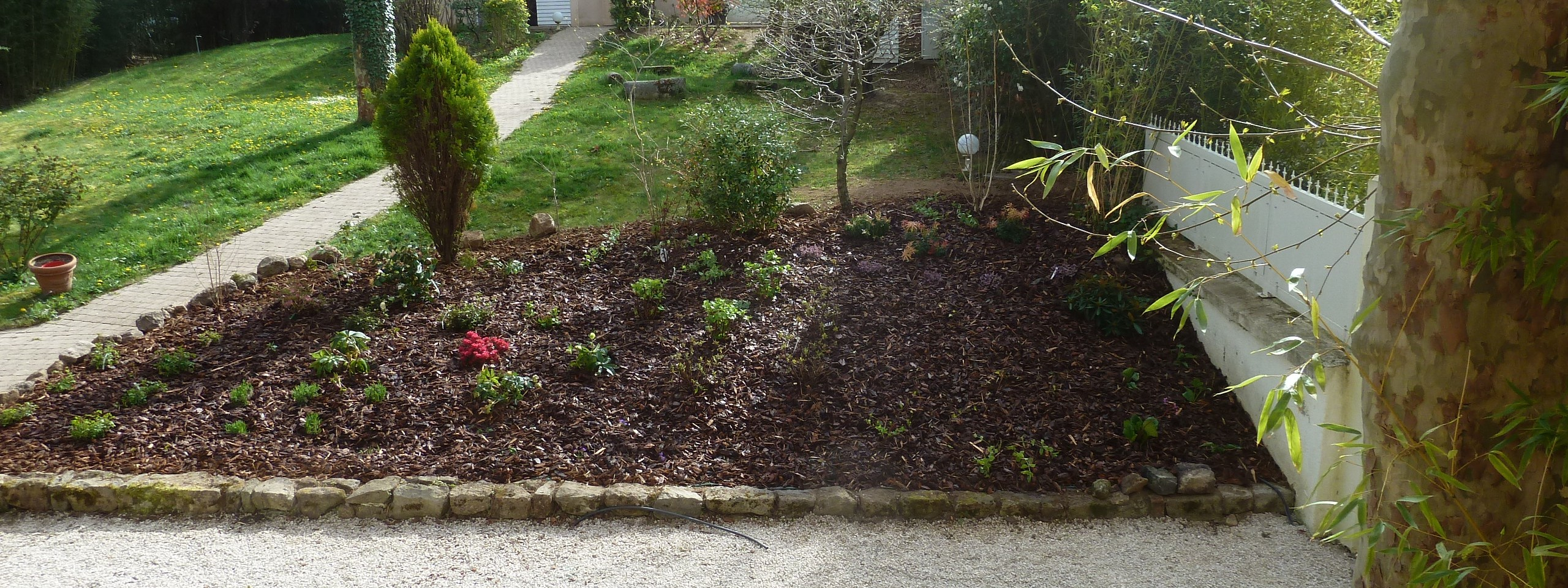 Am nagement talus jardins et bassins for Amenagement talus jardin